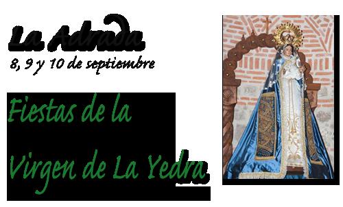 portada_fiestas Virgen yedra La Adrada