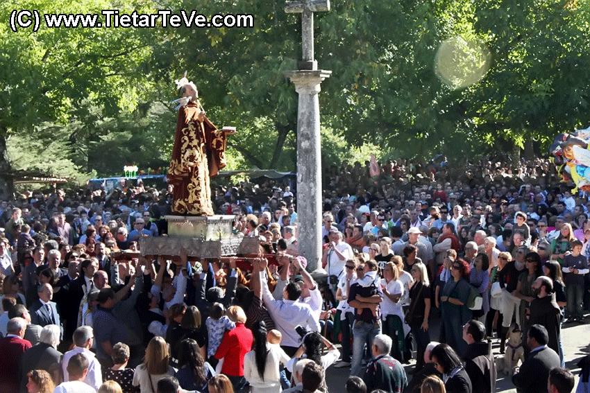 Fiesta de San Pedro de Alcántara - Procesión por el Campillo