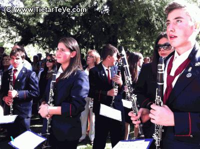 Fiesta de San Pedro de Alcántara - La Banda Municipal de Música de Arenas en el Santuario de San Pedro