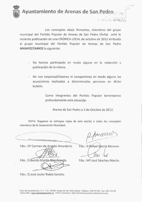 2012-10-02 Carta Concejales PP Arenas de San Pedro