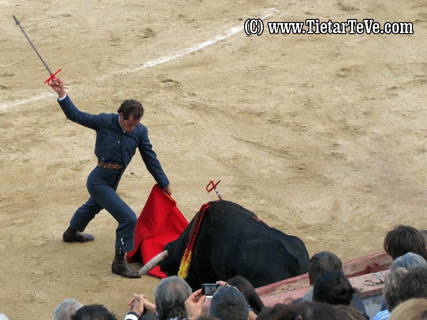 César Jiménez en Arenas de San Pedro