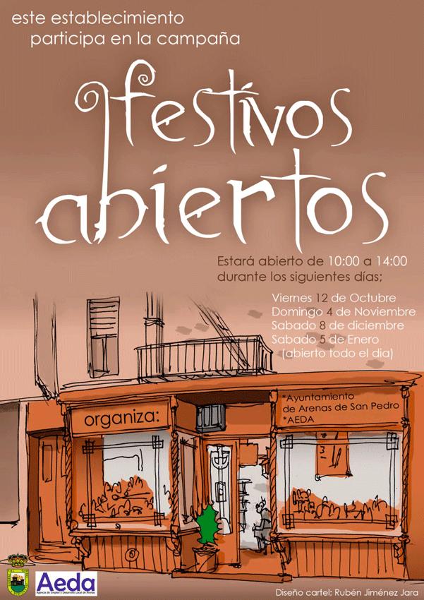 2012-10-12 Festivos Abiertos en Arenas de San Pedro