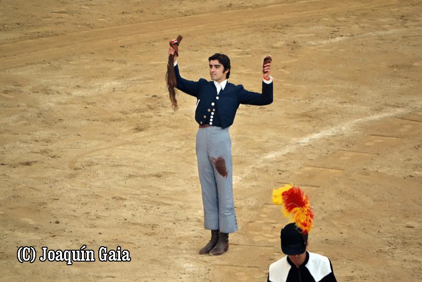 Miguel Ángel Perera en Arenas de San Pedro