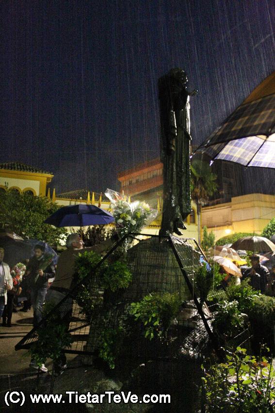 Ofrenda Floral a San Pedro de Alcántara 2012