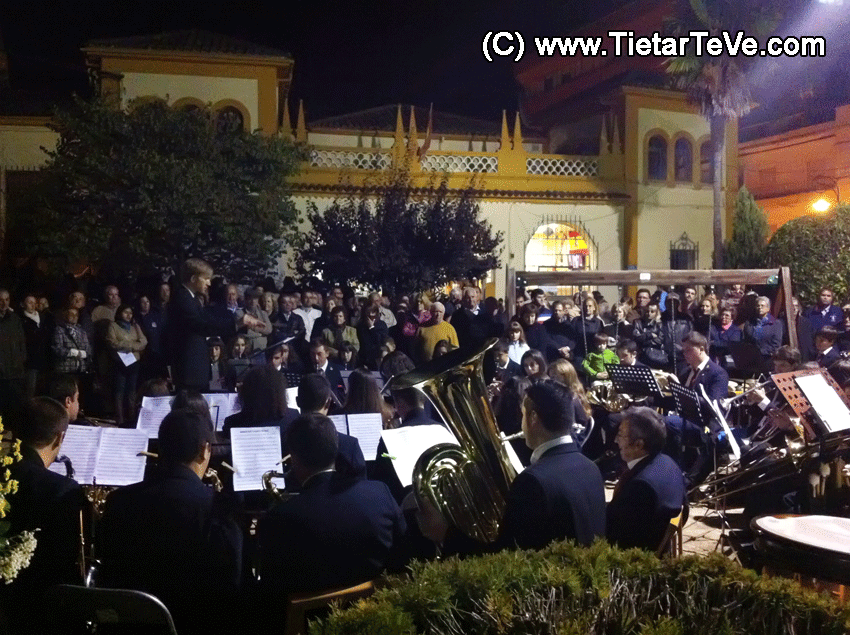 La Banda Municipal de Música de Arenas de San Pedro.