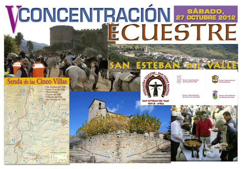 2012-10-27 V Concentración Ecuestre en San Esteban del Valle