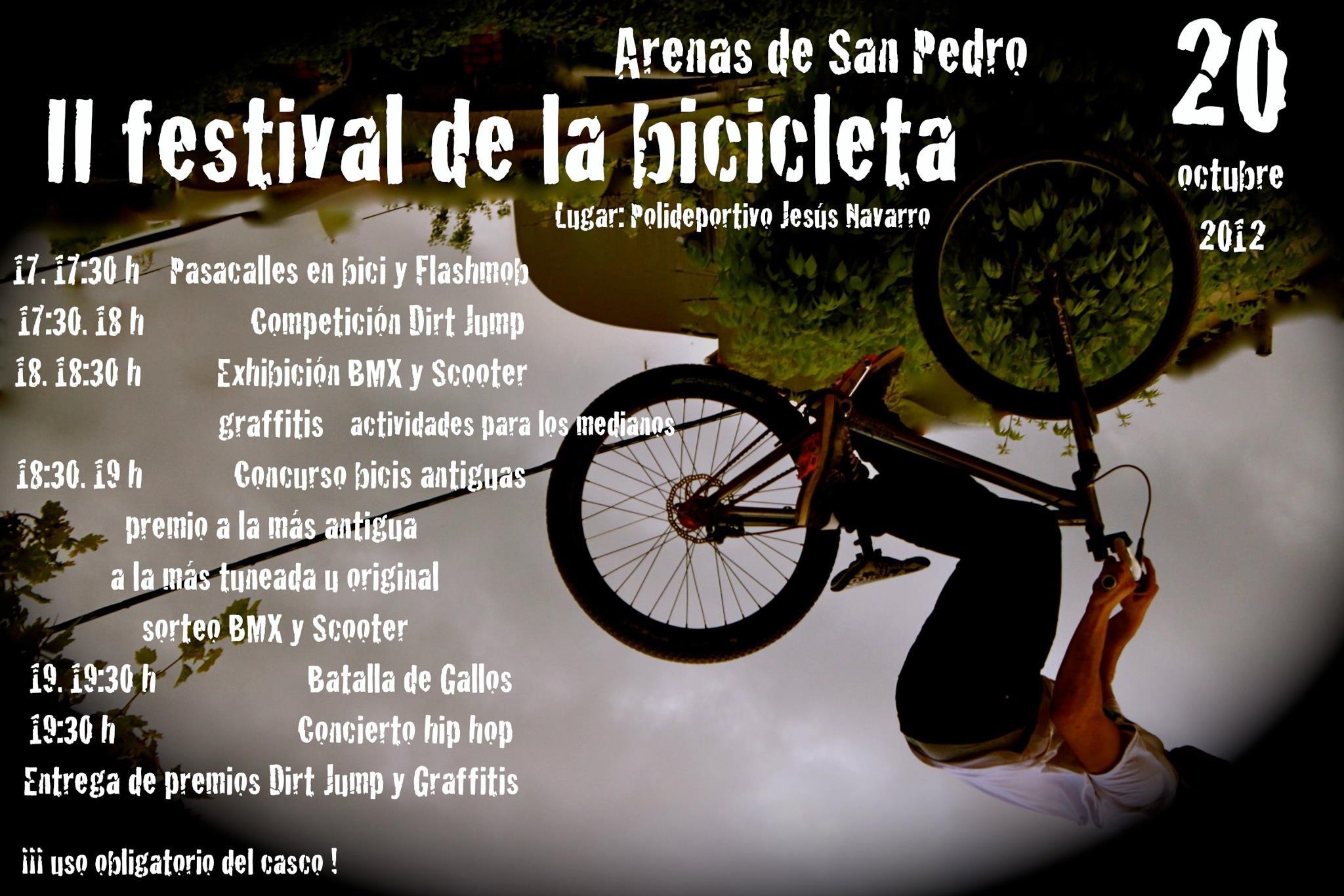 II Festival de la Bicicleta de Arenas de San Pedro 2012
