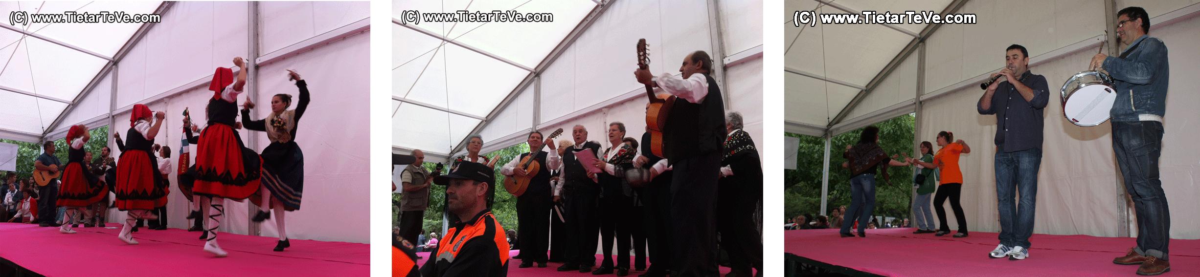 Bailes en el Santuario de Arenas de San Pedro