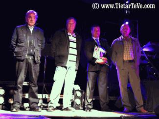 2012-10-12 Pregón de inicio de fiestas del Cristo 2012 en El Arenal