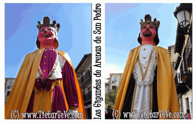 Los Gigantes de Arenas de San Pedro