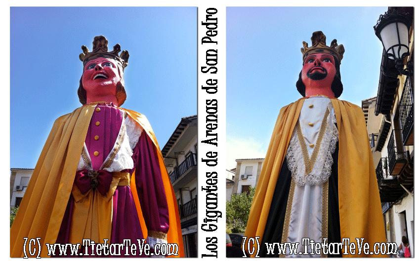 Los Gigantes de Arenas de San Pedro: Isabel y Fernando, los Reyes Católicos - TiétarTeVe