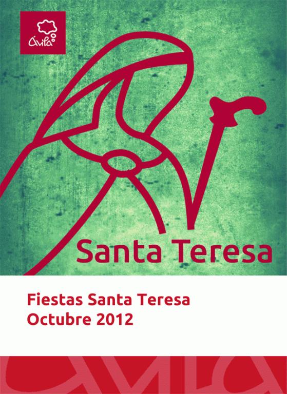 Programa de Fiestas de Santa Teresa 2012 en Ávila