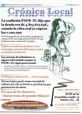 Portada CronicaLocal-PP-Arenas
