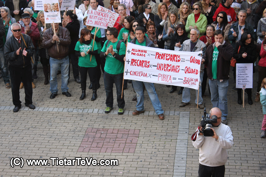 Huelga General 14N en Arenas de San Pedro
