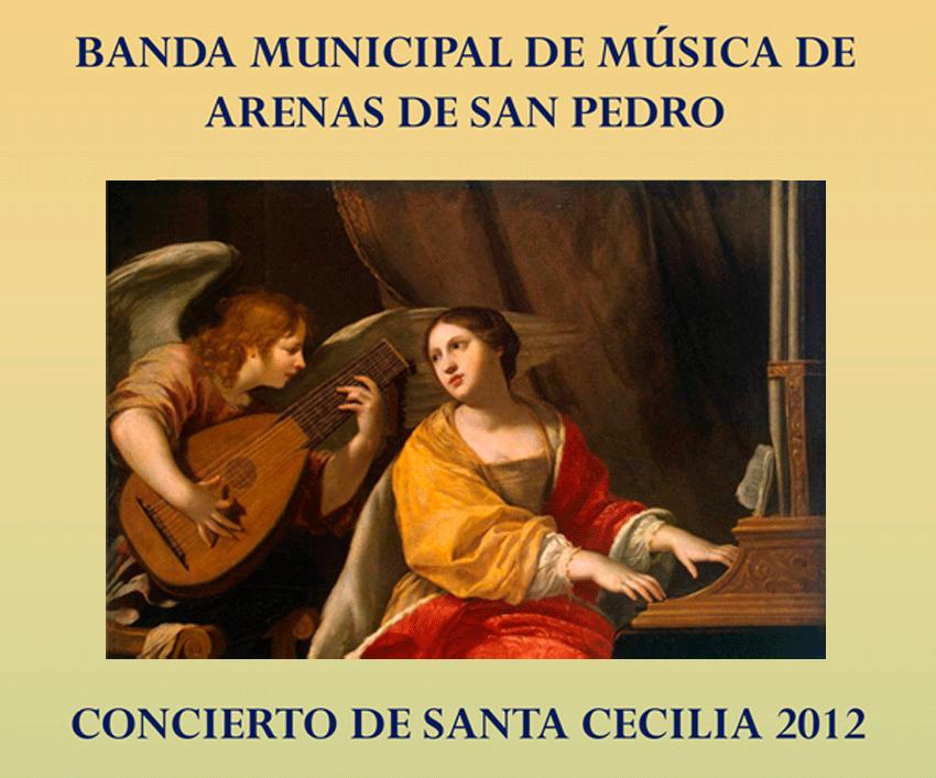 2012-11-24 Concierto de Santa Cecilia de la Banda Municipal de Música de Arenas de San Pedro - TiétarTeVe