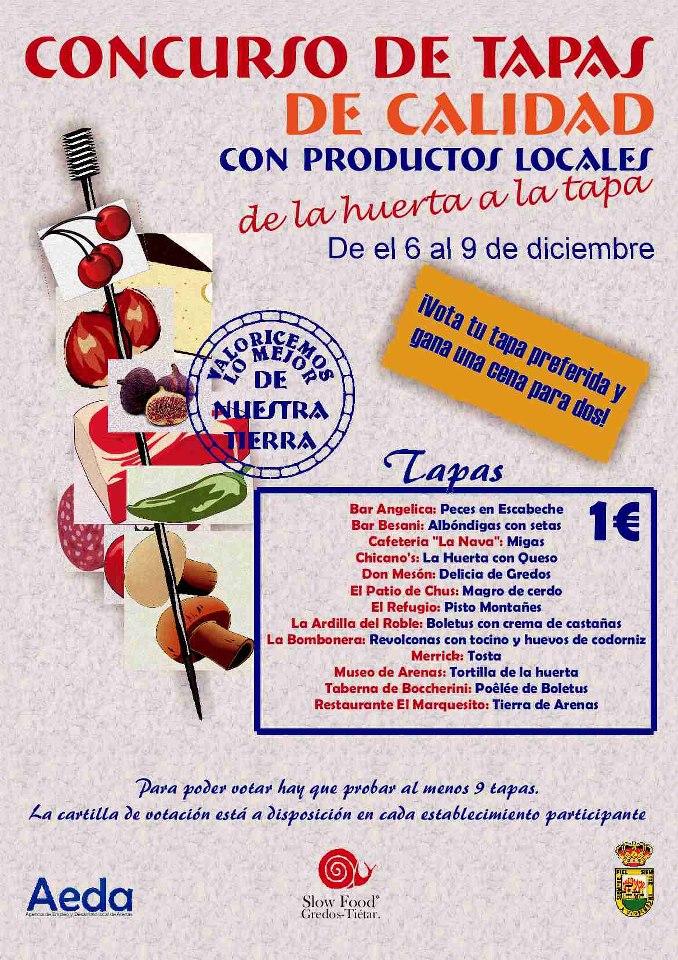 2012-12-06 De La Huerta A La Tapa - Arenas de San Pedro - TiétarTeVe