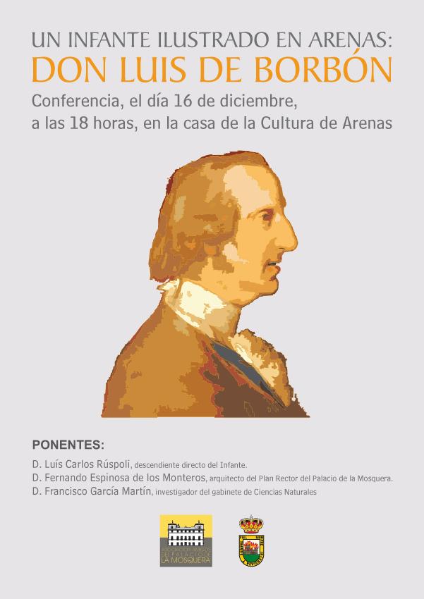 2012-12-16 Conferencia sobre El Infante don Luis de Borbón en Arenas de San Pedro - TiétarTeVe