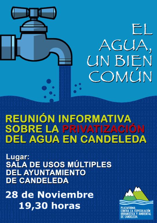 Reunión Informativa Privatización del Agua en Candeleda - TiétarTeVe - TietarTeVe.com