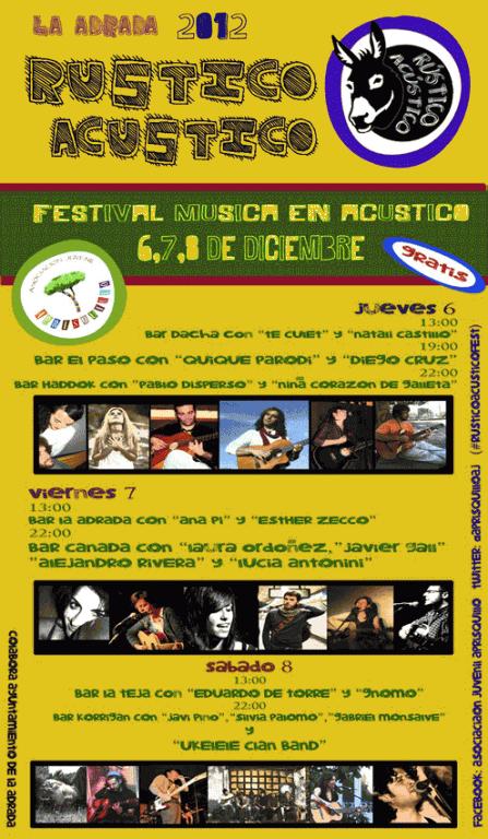 2012-12-06 Rústico Acústico La Adrada - TiétarTeVe - TietarTeVe.com