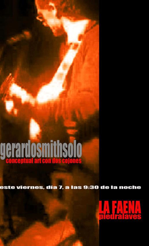 2012-12-07 Concierto Gerardo Smith Solo en La Faena de Piedralaves - TiétarTeVe