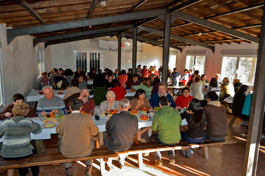 2012-12-08 Día de Terra Madre - Slow Food Gredos Tiétar - TiétarTeVe
