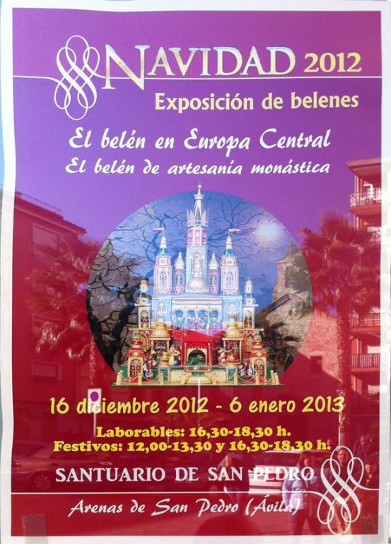 2012-12-16 Exposición Belenes Santuario San Pedro de Alcántara - Arenas de San Pedro