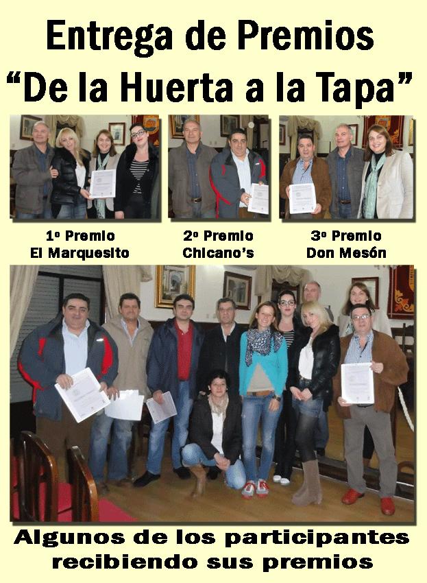 2012-12-18 Entrega de Premios De La Huerta A La Tapa - Arenas de San Pedro