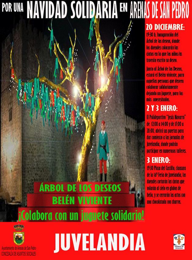2012 Campaña Navidad Arenas de San Pedro