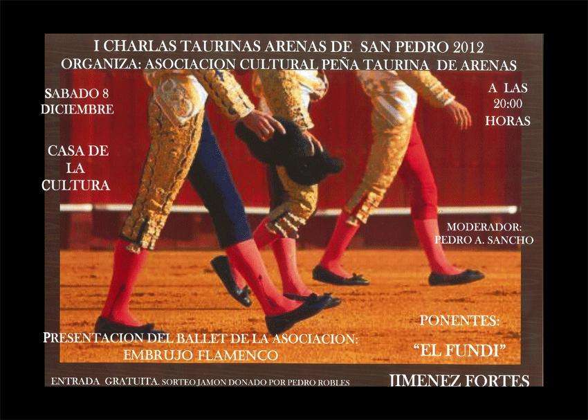 I Charlas Taurinas en Arenas de San Pedro - TiétarTeVe - TietarTeVe.com