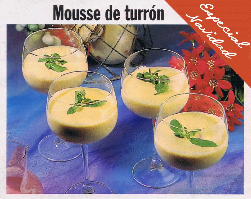 Mousse de Turrón
