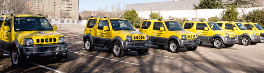 Entrega Vehículos para Protección Civil de la JCyL