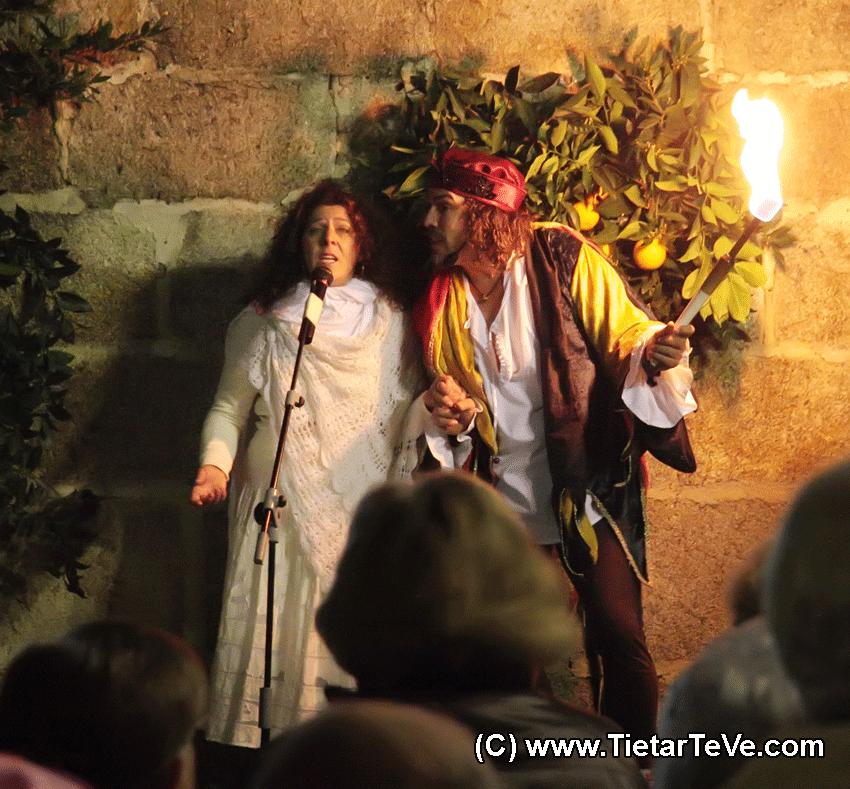 Pregón en las Fiestas en honor a San Sebastián en Poyales del Hoyo del 2010 - TiétarTeVe.com
