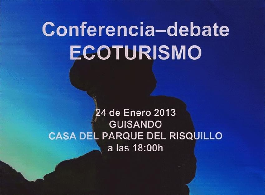 Ecoturismo - Conferencia debate en Guisando - TiétarTeVe.com