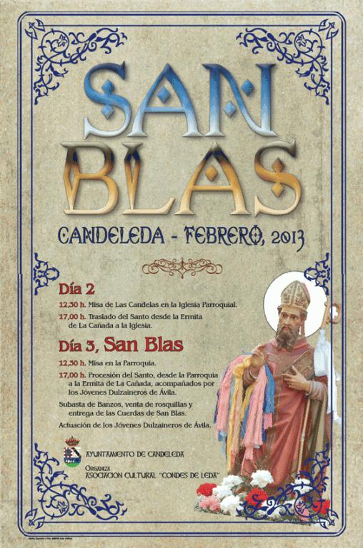 Fiestas de Las Candelas y San Blas 2013 en Candeleda - TiétarTeVe