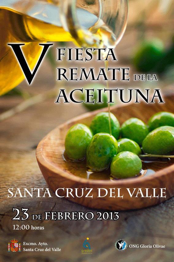 V Fiesta del Remate de la Aceituna en Santa Cruz del Valle -Olivo- TiétarTeVe