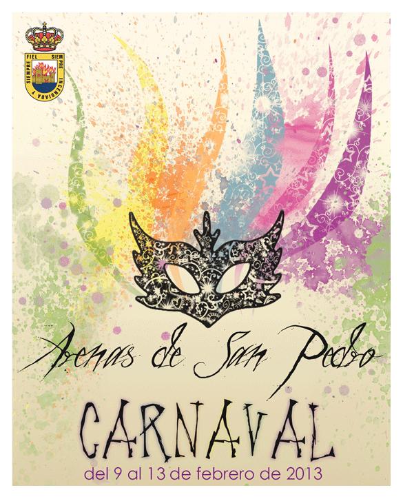 Cartel Carnaval 2013 Arenas de San Pedro - TiétarTeVe.com