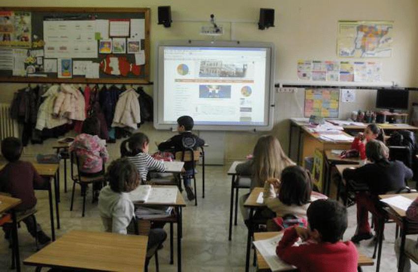 Clase Primaria Colegio Divina Pastora de Arenas de San Pedro - TiétarTeVe