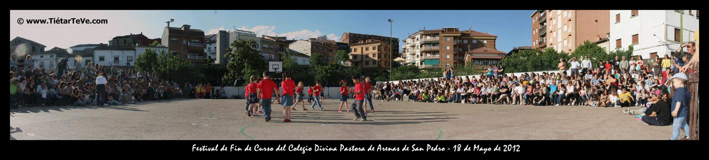 Colegio Divina Pastora de Arenas de San Pedro - Pista Polideportiva - TiétarTeVe