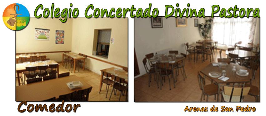 Colegio Divina Pastora de Arenas de San Pedro - Comedor - TiétarTeVe