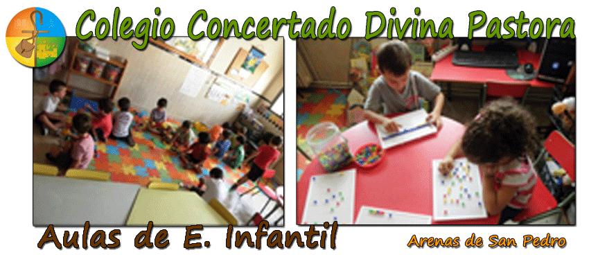 Colegio Divina Pastora de Arenas de San Pedro - Aulas Infantil - TiétarTeVe