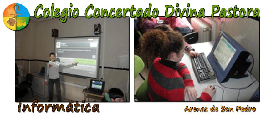 Colegio Divina Pastora de Arenas de San Pedro - Informática - TiétarTeVe