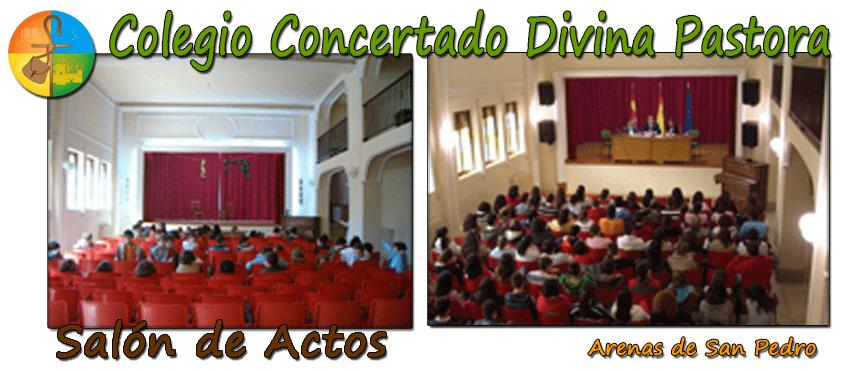 Colegio Divina Pastora de Arenas de San Pedro - Salón de Actos - TiétarTeVe