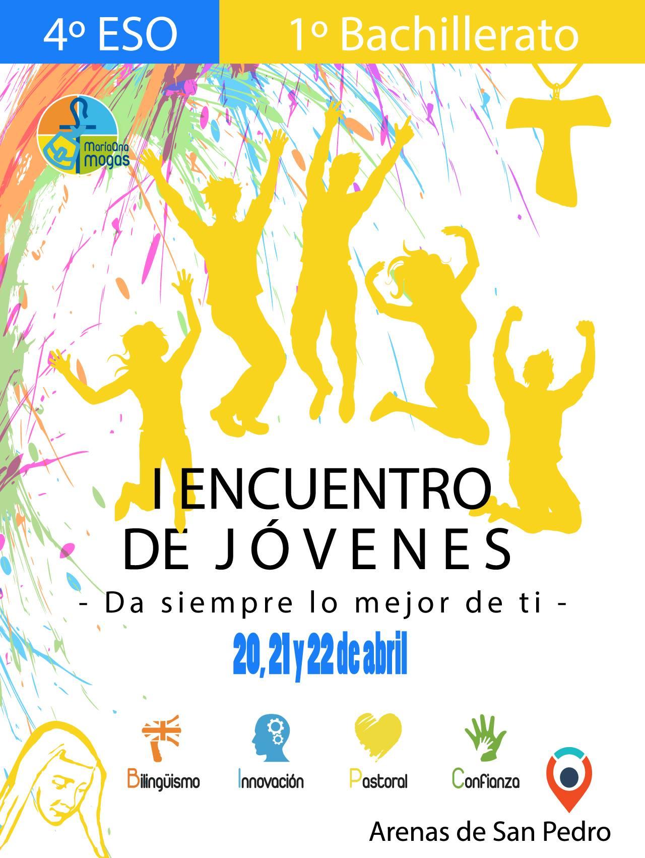 I Encuentro de Jóvenes - Colegio Divina Pastora - Arenas de San Pedro - TiétarTeVe