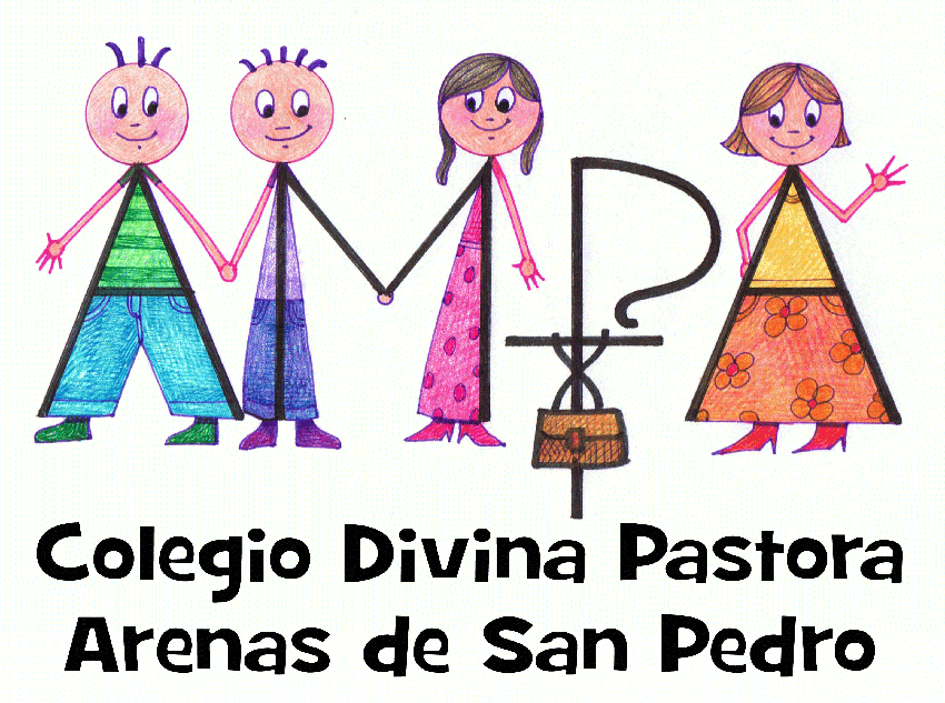 Logotipo AMPA Colegio Divina Pastora de Arenas de San Pedro - TiétarTeVe
