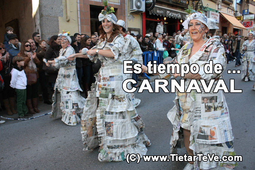 Carnaval 2013 Arenas de San Pedro - TiétarTeVe
