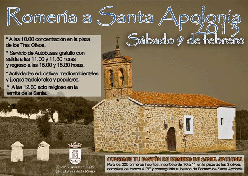 Romería de Santa Apolonia - Talavera de la Reina - TiétarTeVe