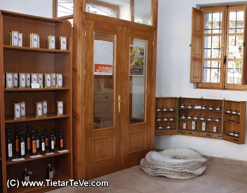 Tienda de Aceites de Oliva Virgen Extra de Santa Cruz del Valle
