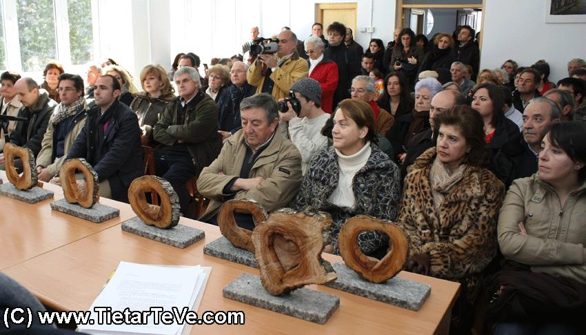 Asistentes y Premiados en los I Premios Corazón de Olivo del Valle del Tiétar - TiétarTeVe