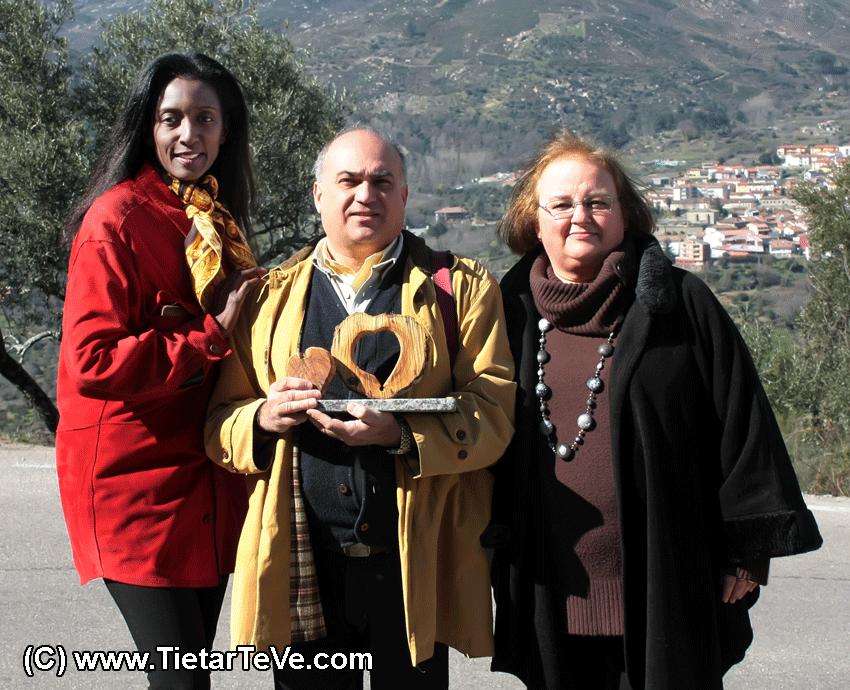 I Premios Corazón de Olivo - TiétarTeVe (Lu Soto, Paco Huerta y Margot Riofrío)