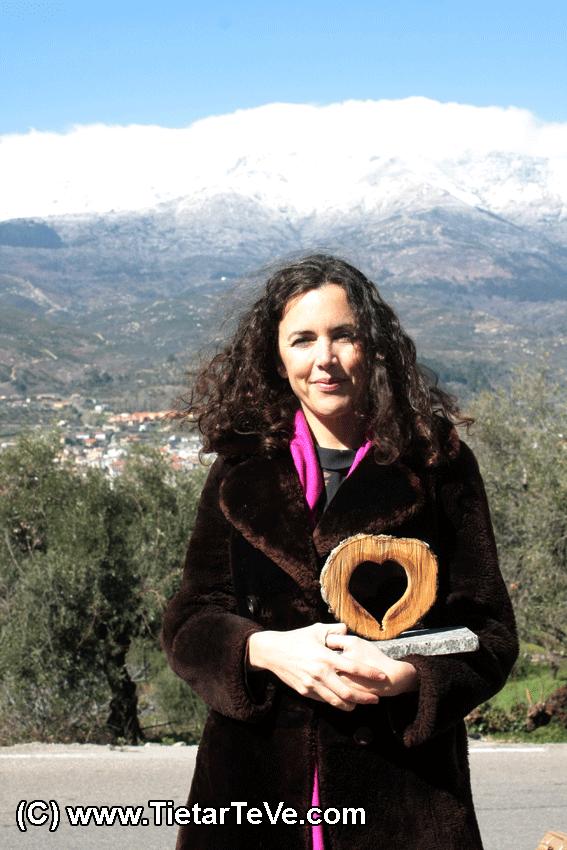 I Premios Corazón de Olivo - Elena Vecino Hens, de Arbequino Andaluz S.L. y La Cultivada (Córdoba) - TiétarTeVe